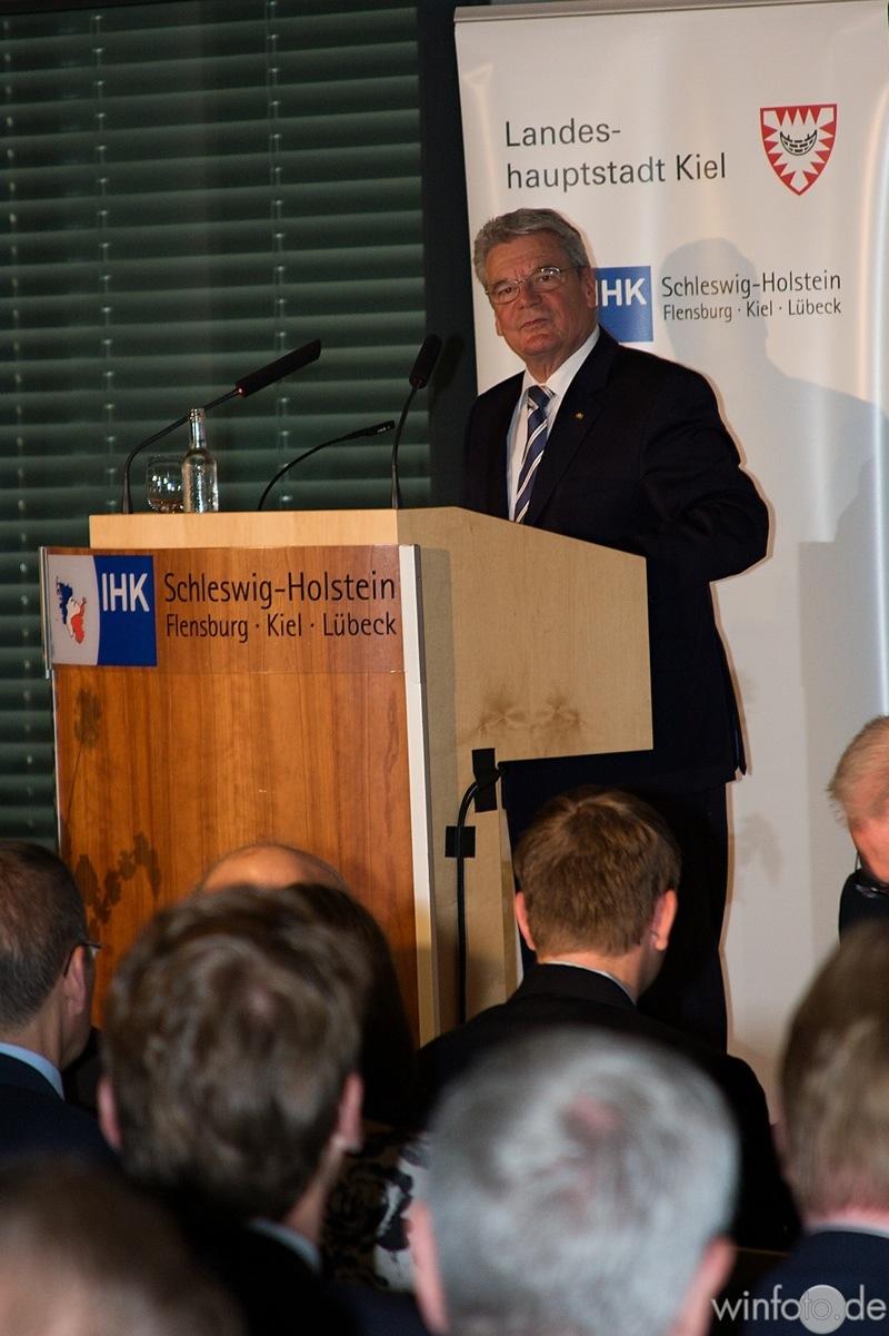 Ehrengast Bundespräsident Joachim Gauck
