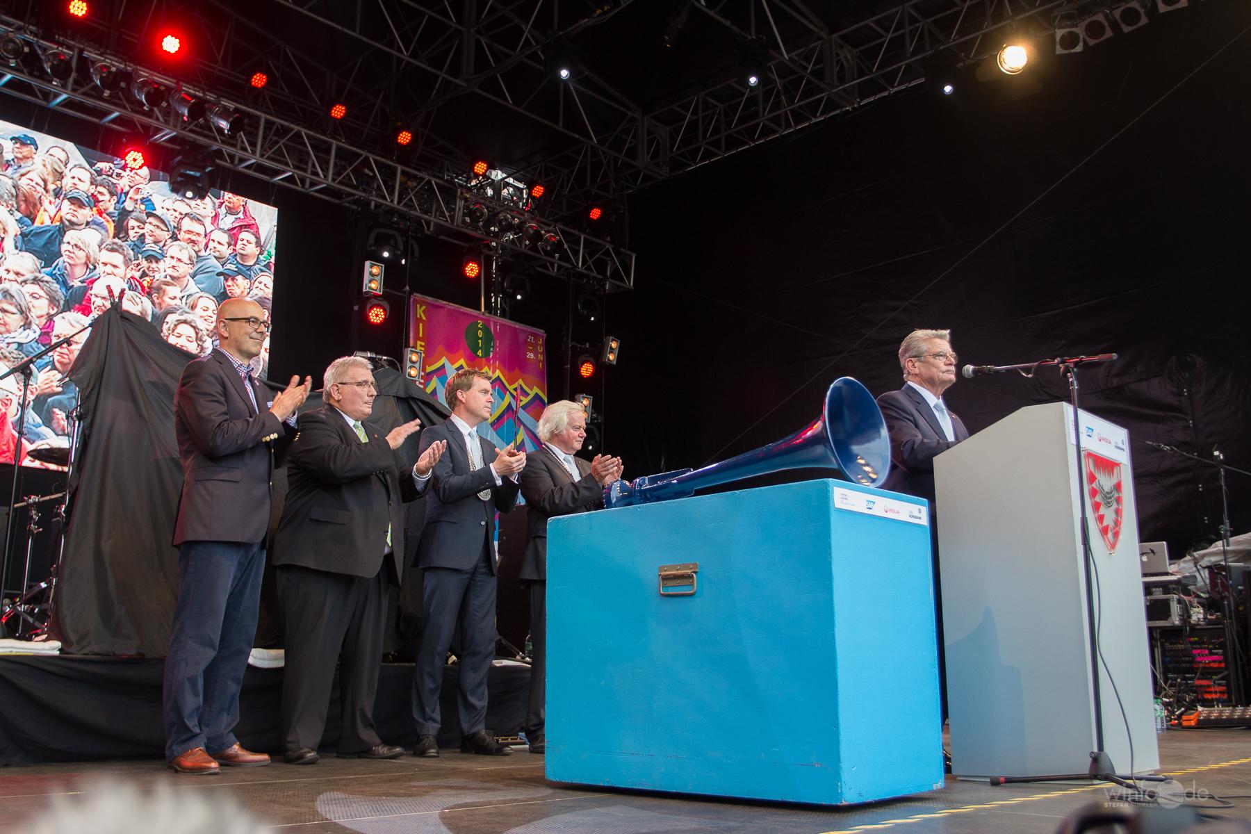 Kiel startet feierlich in die Kieler Woche 2014