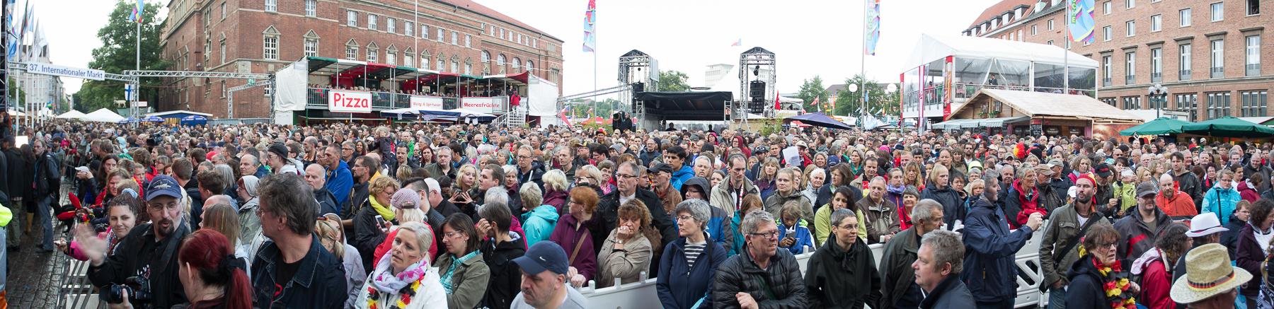 Kieler Woche: NDR auf der Rathausbühne