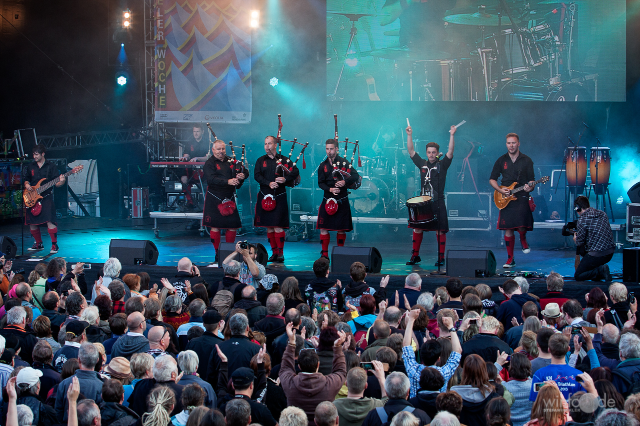 Korrektur: Red Hot Chilli Pipers am 20.06.2015