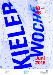 Kieler-Woche-Plakat 2016 vorgestellt