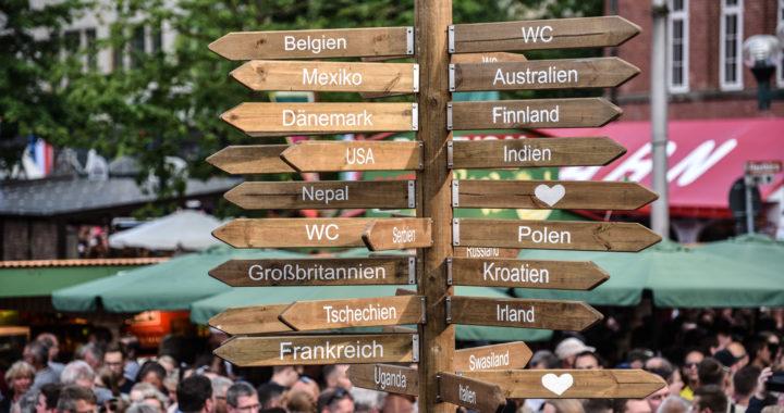 Mehr Stände, mehr Vielfalt: Der Internationale Markt bei der 125. Kieler Woche