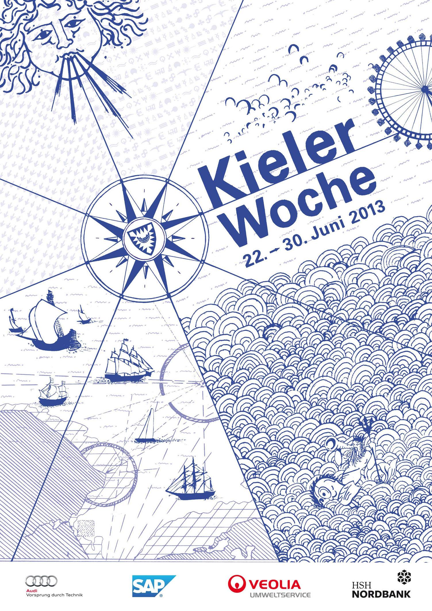 Kieler Woche 2013 – Von Kroko-Spieß bis Rentierblut für alle was dabei!