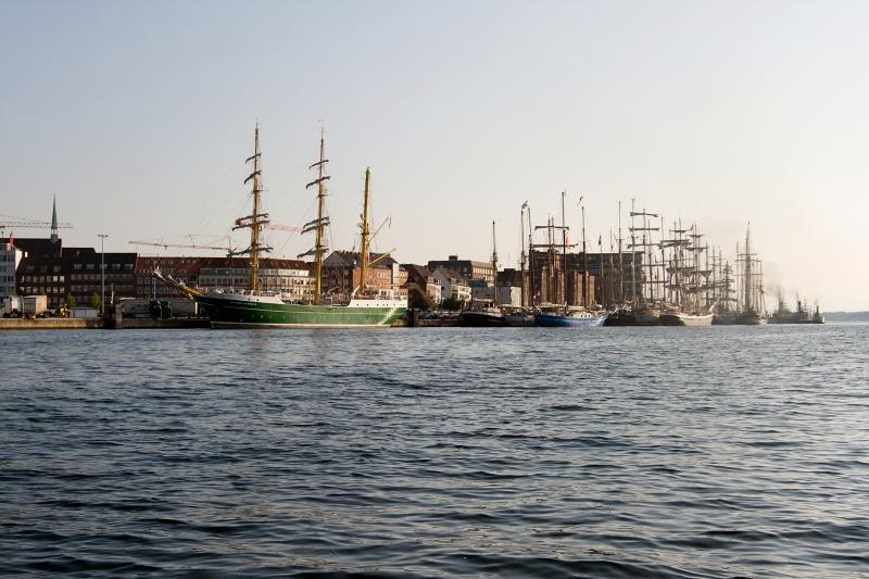 Ab heute starten in Kiel wieder die Hafenrundfahrten