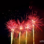 Feuerwerk nach dem Nightglow